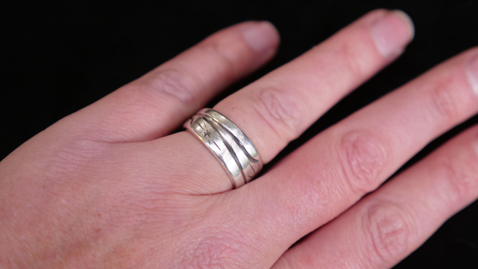 Star Spangle Ring