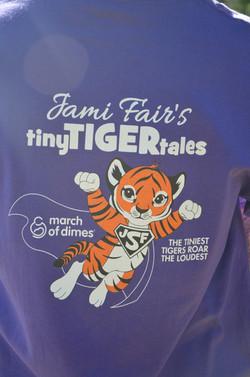 Jami Fair's Tiny Tiger Tales t-shirt