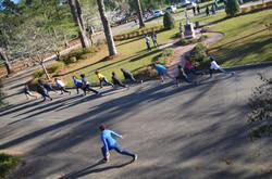 YMCA warm up