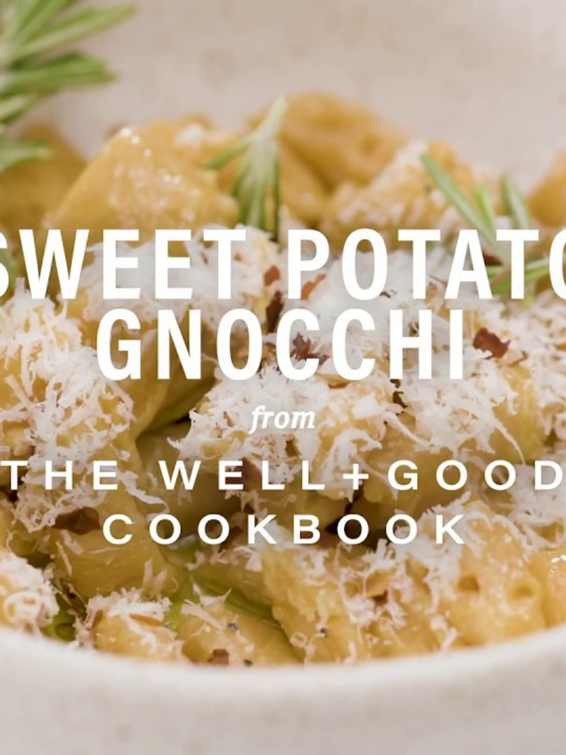 Sweet Potato Gnocchi for Well + Good Cookbook