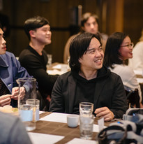 Studio ATAO Asian in America guests listening