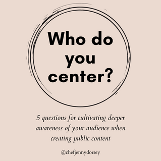 Who Do You Center?