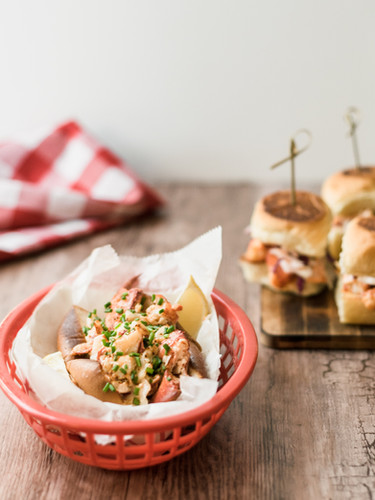 Lobster Rolls for Down East Lobstah
