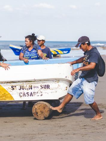 Casares Beach, Nicaragua