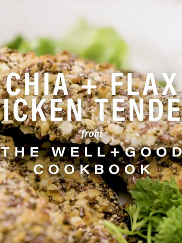 Chicken Tenders for Well + Good Cookbook