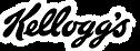 Kellogg's logo in black and white