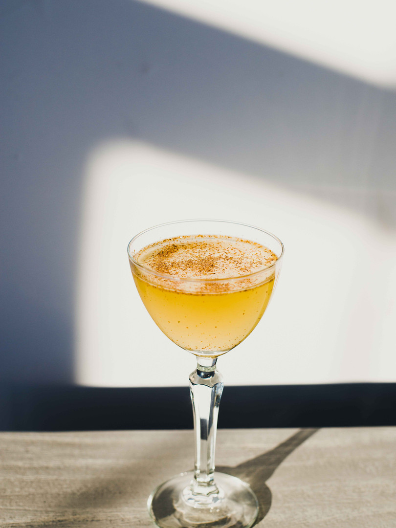 Spicy Bee's Knees for 50 Healthy Cocktails Book