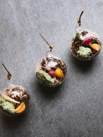 Edible Terrariums by Chef Jenny Dorsey