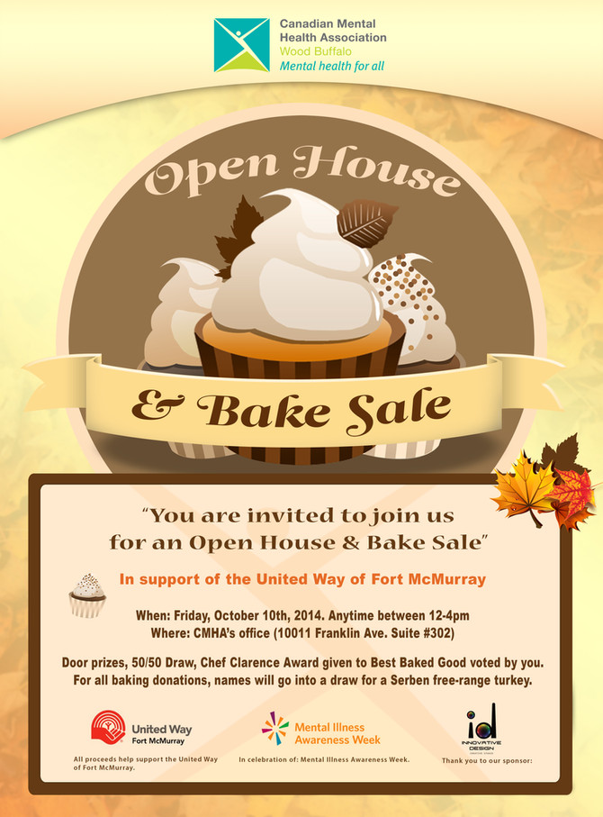 Open House and Bake Sale