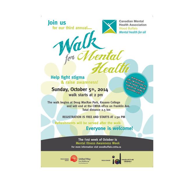 Third annual walk for mental health