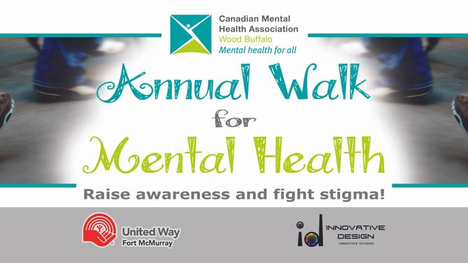 Banner Anual Walk for Mental Health