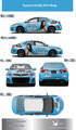 Full Car Wrap Design and Installation for Shelley Torangeau and The Dream Team