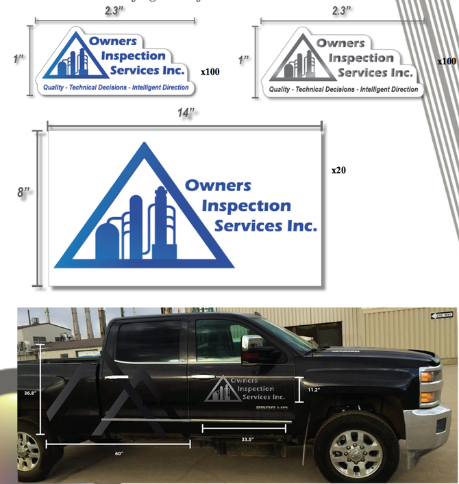 Hard Hat Stickers, Truck Decals and Magnetic Rulers