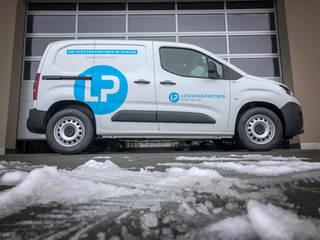 Fahrzeugbeschriftung Lüscher&Partner Elektro AG Sursee