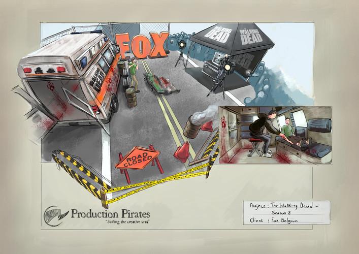 pp - the walking dead season 8 fox belgi