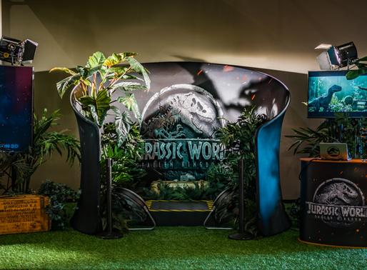 Jurassic World: Fallen Kingdom 4D VR-Experience Pop-up Tour