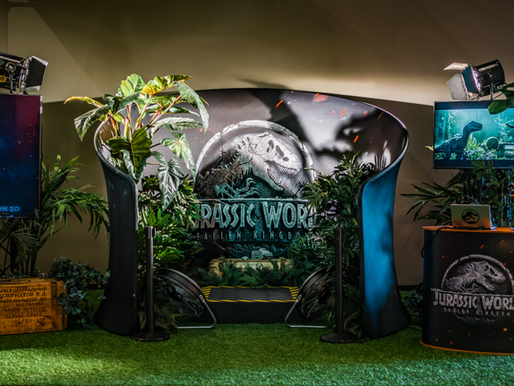 Jurassic World: Fallen Kingdom 4D VR-Experience Pop-up Tour