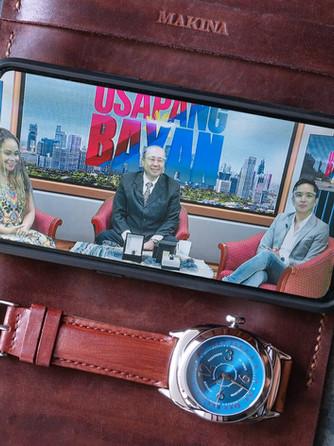 Makina on Cable TV talkshow, Usapang Bayan.