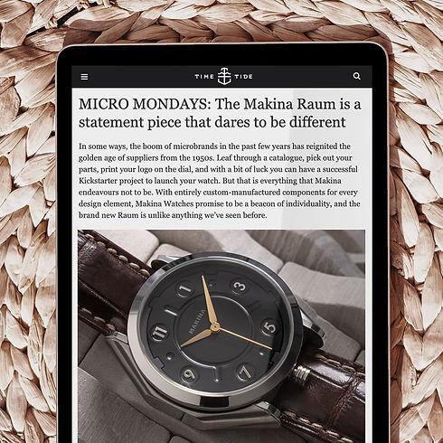 Makina Time Tide Australia