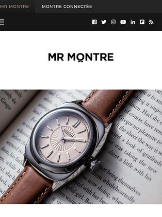 """In France - """"Zoom sur la nouvelle marque horlogère Makina"""""""