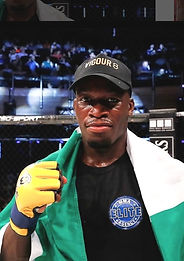 Mike Ekundayo Airlines MMA Fighter MMA Coach The Gauntlet Fight Academy