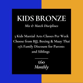 Kids Bronze Membership