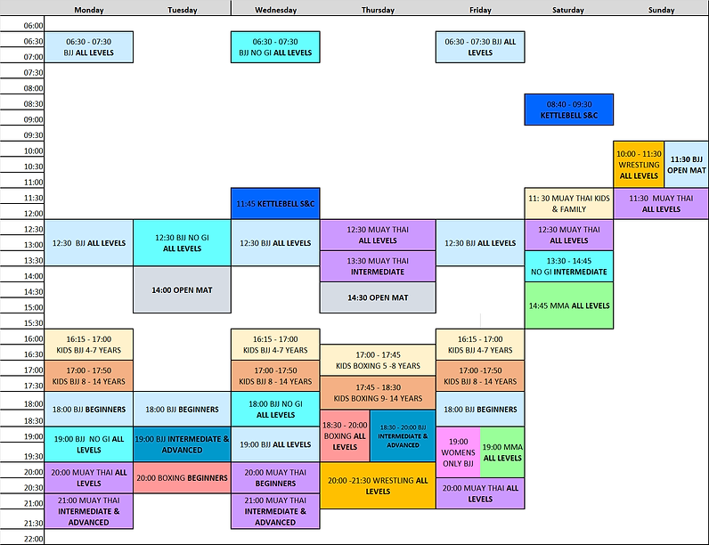 The Gauntlet Timetable September 2021 (2).png