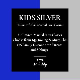 Kids Silver Membership
