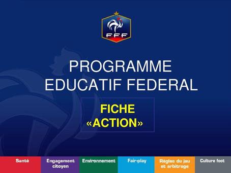 ACTION PEF : Le capitanat (U13)
