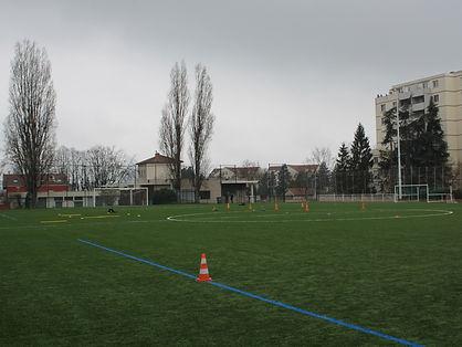 lyon croix rousse football infrastructure