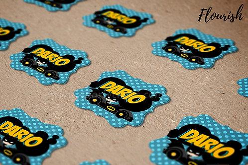 Paquete stickers (calcomanías) Flourish