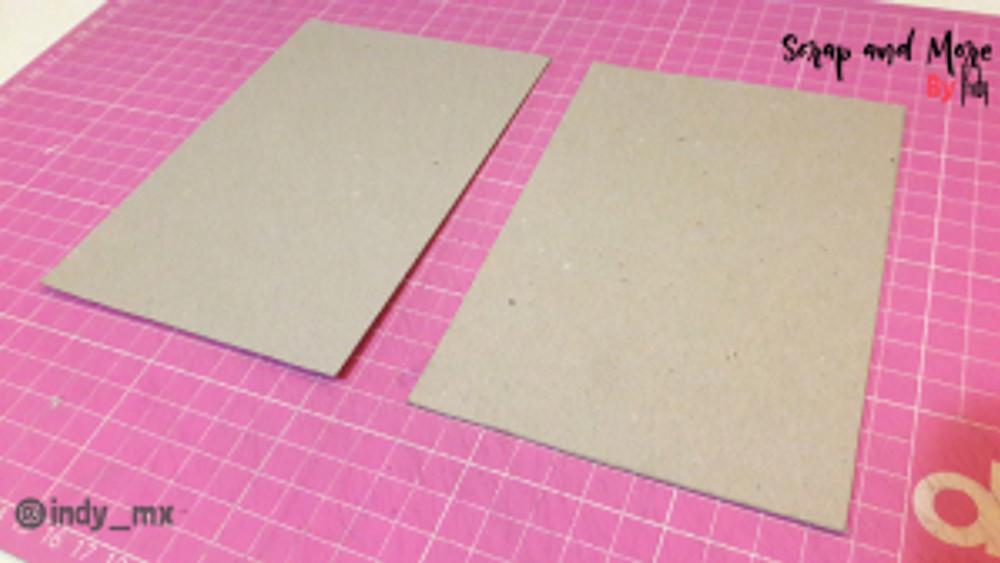 Libreta sencilla hecha a mano con pinturas acrilicas handmade notebook acrylic paint tutorial (1)