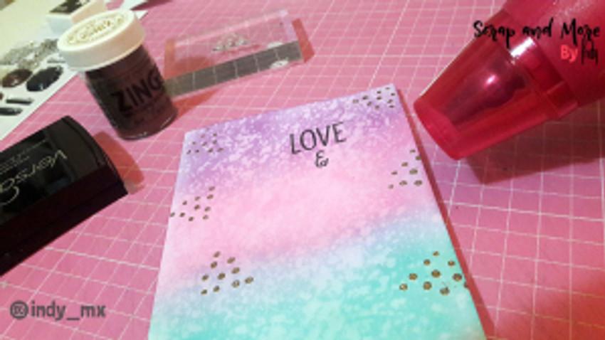 proceso tarjeta donas cardmaking donut card (10)