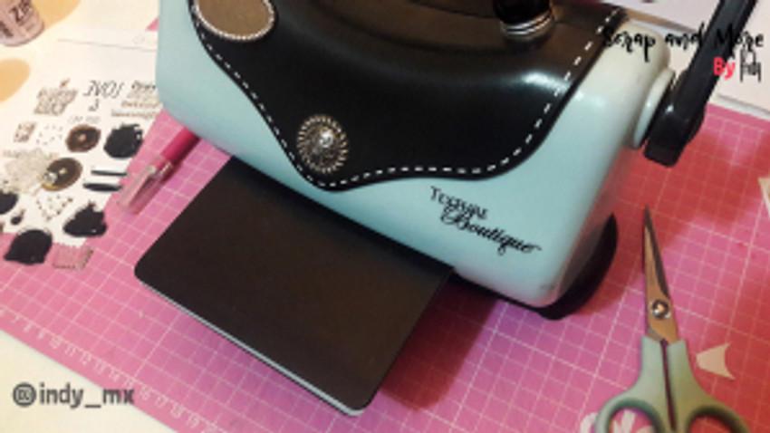 proceso tarjeta donas cardmaking donut card (8)