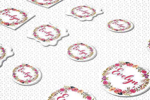 Paquete stickers (calcomanías) mixto