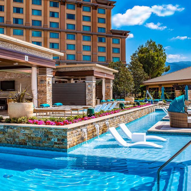 Pala Casino Resort Pool Area