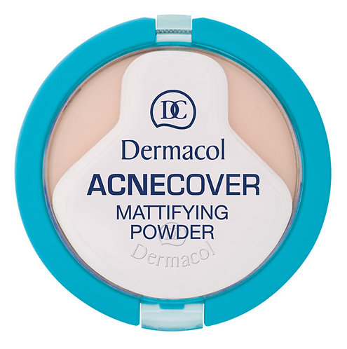 Acnecover mattifying powder - Porcelain No.1