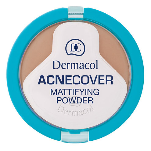 Acnecover mattifying powder - Honey No. 4