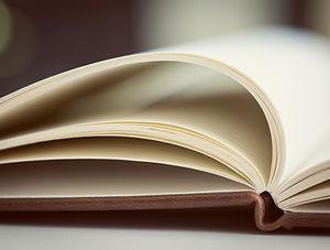 öppen bok