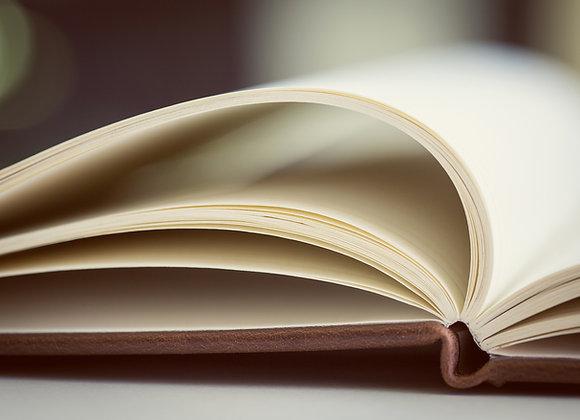 Booklet  design.