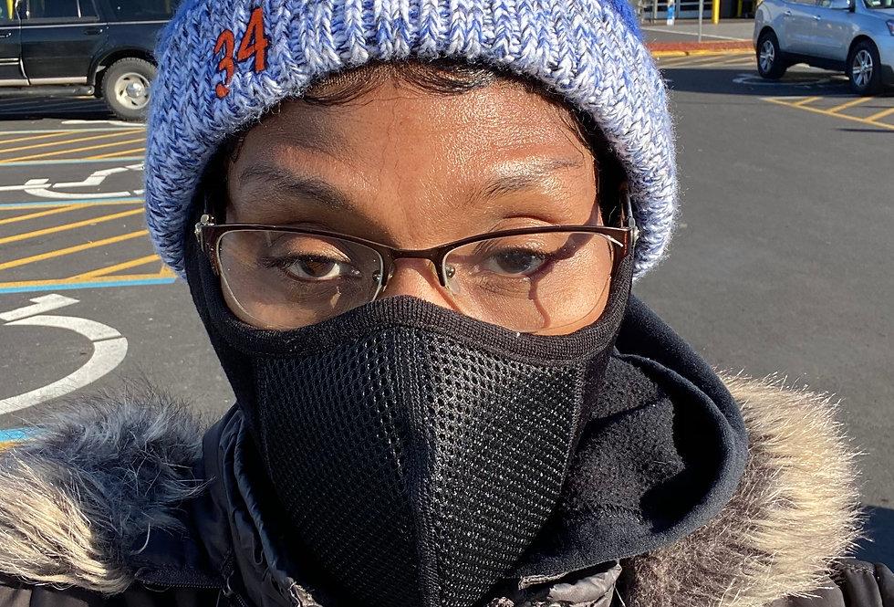 Ear Muffs & mask combo for Women & Men - Winter Ear Warmers - Soft & Warm