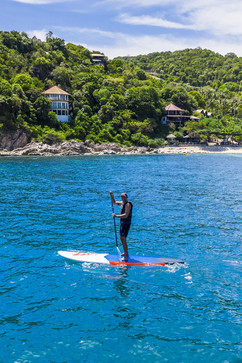We have paddleboard for rent at the hotel