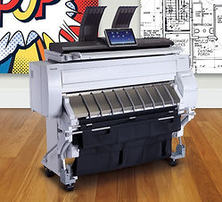 Ricoh Canon Wide Large Format Printer Plotter