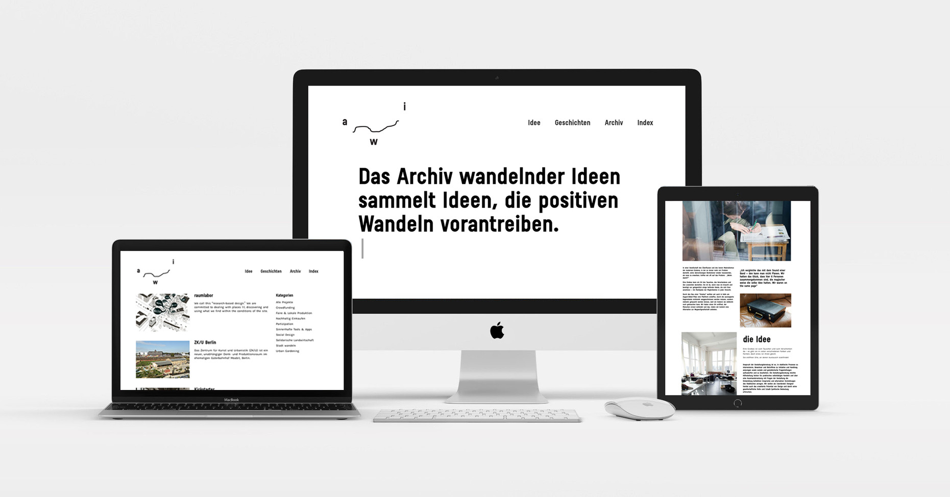 ARCHIVE OF TRANSFORMATIVE IDEAS |WEBSITE