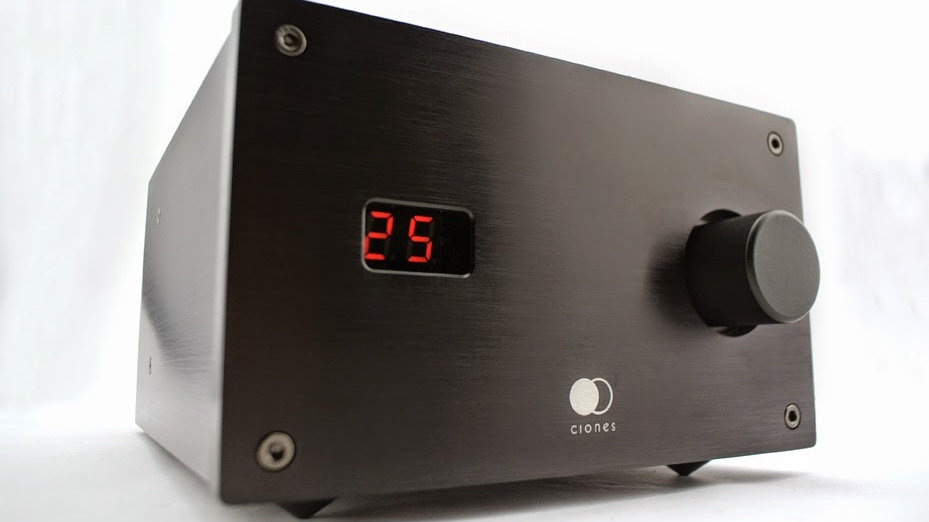 Clones Audio 25iR Amplificatore Integrato Stereo High End Telecomando