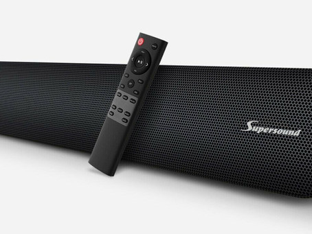 Supersound, la Soundbar per gli intenditori di alta fedeltà
