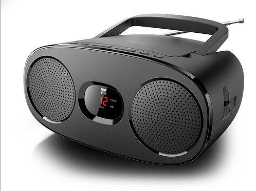 NEW ONE RD 306 Radio Lettore CD Boombox Stereo Portatile Rete / Batterie