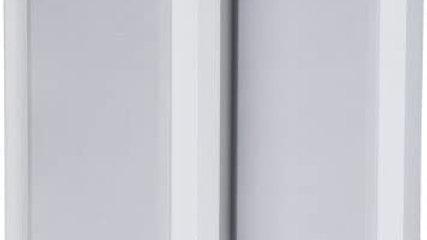DLS SWEDEN Flatbox XL White Coppia Diffusori Casse da parete 150W 2 vie