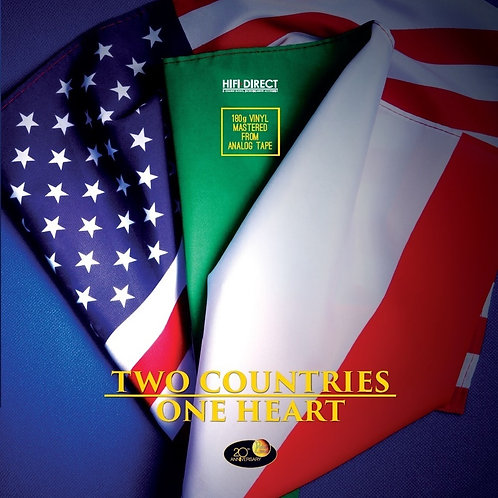 Two Countries One Heart, LP 180 gr. 33 giri Vinile Audiophile Limited Edition