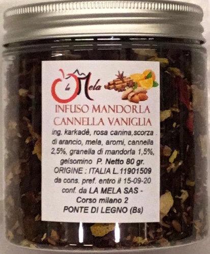 Infuso MANDORLA CANNELLA VANIGLIA 80 Gr.